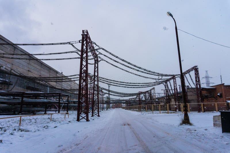 εργοστάσιο στοκ εικόνα με δικαίωμα ελεύθερης χρήσης