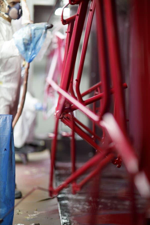 Εργοστάσιο Dyehouse ποδηλάτων στοκ εικόνα με δικαίωμα ελεύθερης χρήσης