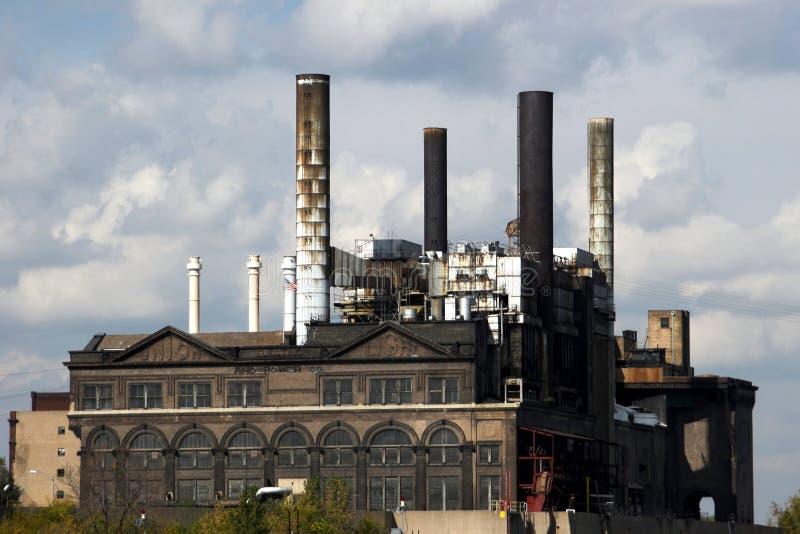 εργοστάσιο Louis παλαιό ST στοκ εικόνες