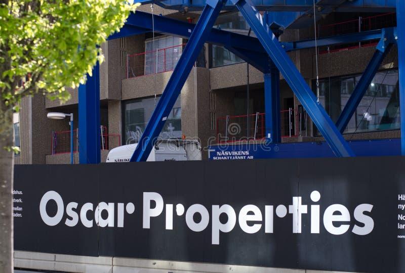 Εργοτάξιο ιδιοτήτων του Oscar στοκ εικόνα