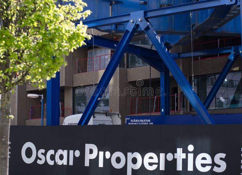 Εργοτάξιο ιδιοτήτων του Oscar στοκ εικόνα με δικαίωμα ελεύθερης χρήσης