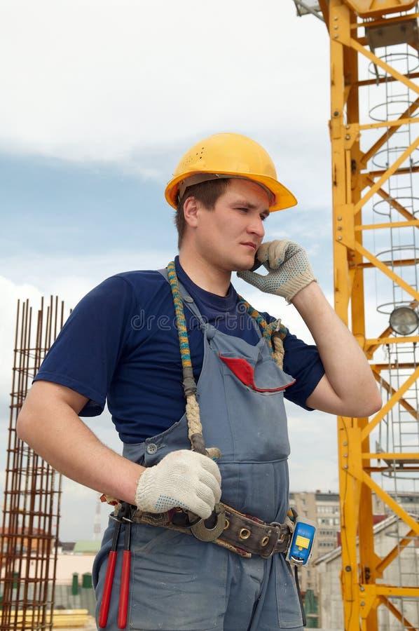 εργοτάξιο οικοδομής ο&iot στοκ φωτογραφία