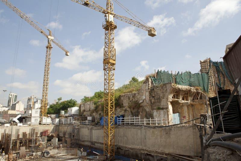 Εργοτάξιο οικοδομής, Λίβανος στοκ φωτογραφία με δικαίωμα ελεύθερης χρήσης