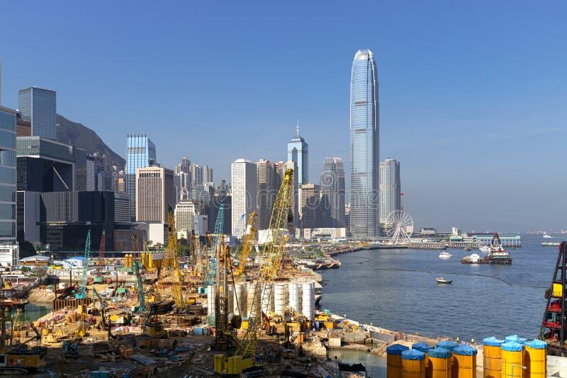 Εργοτάξιο στο Χονγκ Κονγκ στοκ φωτογραφία με δικαίωμα ελεύθερης χρήσης