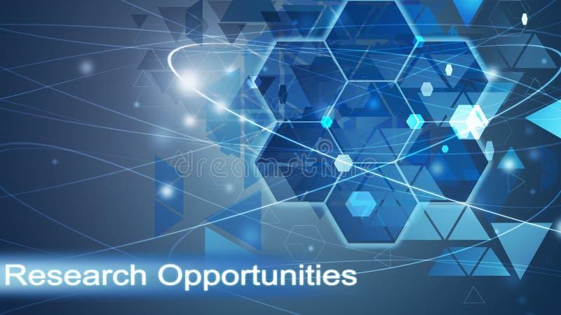 Ερευνητικές ευκαιρίες, επιχειρησιακό υπόβαθρο στοκ εικόνες με δικαίωμα ελεύθερης χρήσης