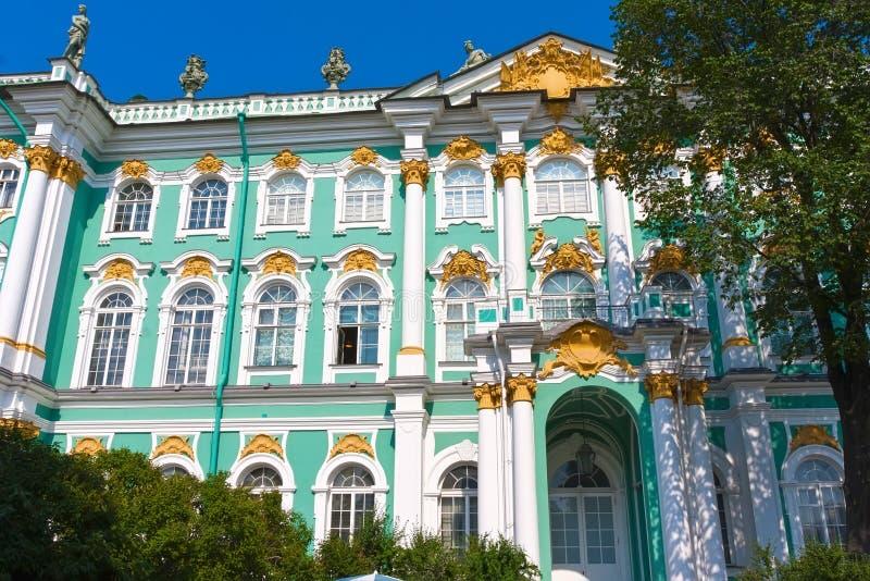 Ερημητήριο σε Άγιο Πετρούπολη στοκ εικόνα με δικαίωμα ελεύθερης χρήσης