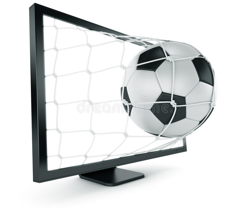 Download ερχόμενο ποδόσφαιρο μηνυ απεικόνιση αποθεμάτων. εικονογραφία από απομονωμένος - 13180064