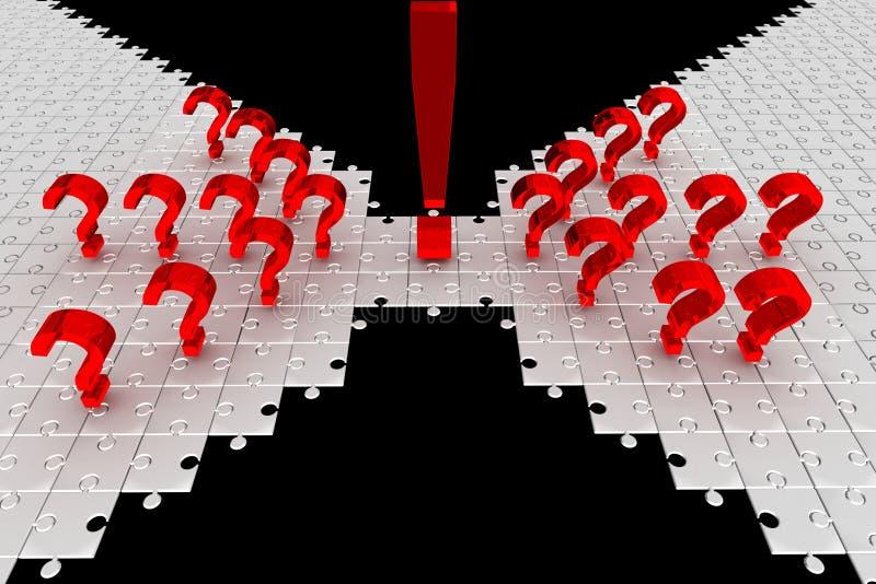 ερωτήσεις γρίφων ιδέας ελεύθερη απεικόνιση δικαιώματος