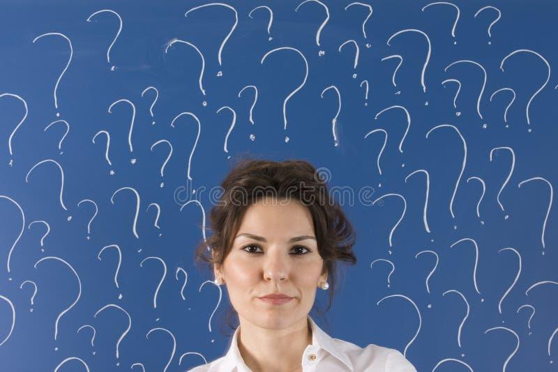 ερωτήσεις μερών στοκ φωτογραφία με δικαίωμα ελεύθερης χρήσης
