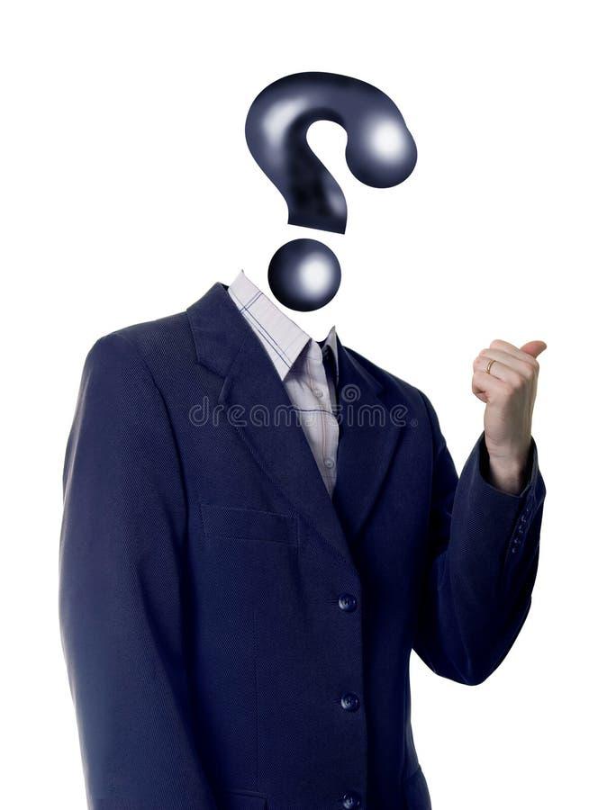 ερώτηση ατόμων στοκ εικόνες