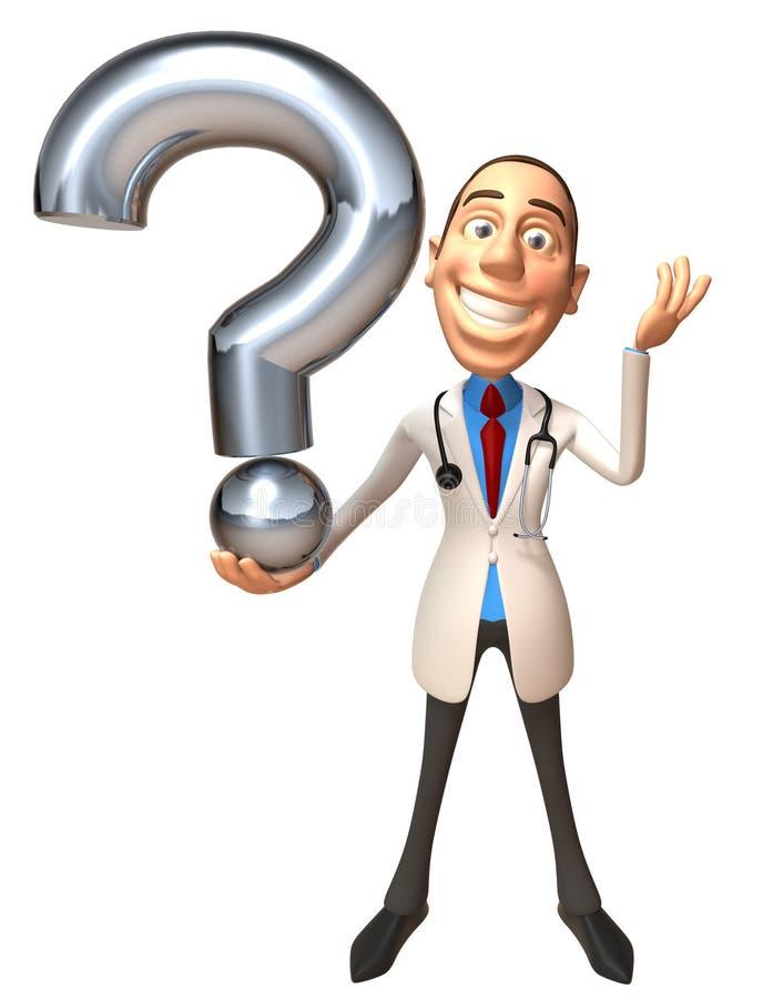 ερώτηση γιατρών ελεύθερη απεικόνιση δικαιώματος
