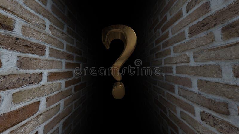 ερώτηση σημαδιών Ποιο ` s εκεί άγνωστο Αυτό που είναι αυτό τι είναι εκεί αβεβαιότητα 53 ελεύθερη απεικόνιση δικαιώματος