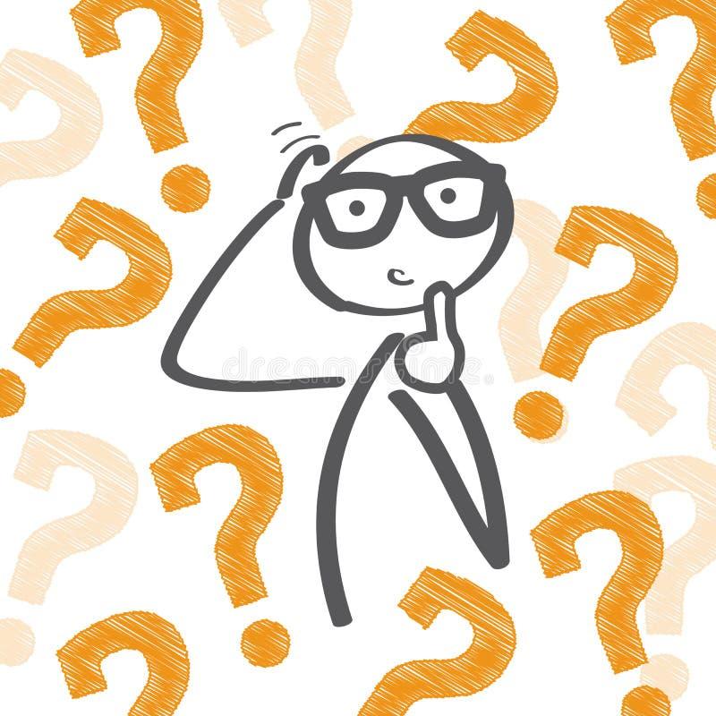 ερώτηση σημαδιών απεικόνιση αποθεμάτων