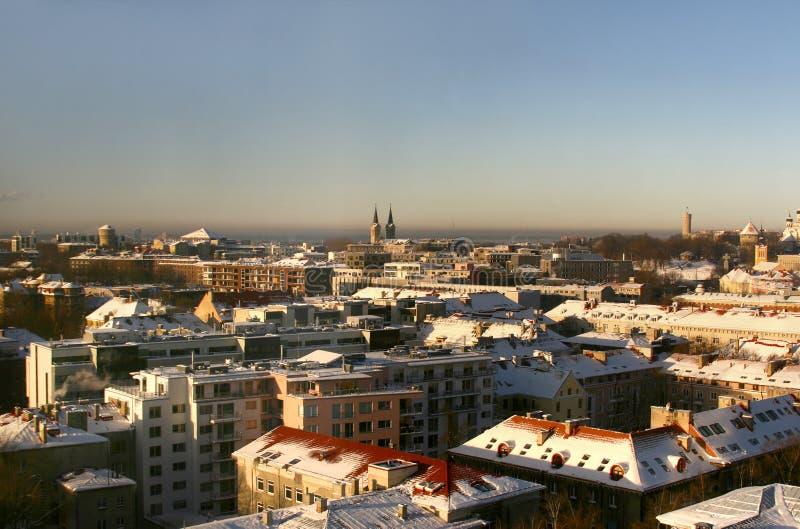 Εσθονία σύγχρονο Ταλίν στοκ φωτογραφίες
