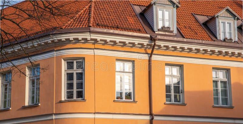 Εσθονία Ταλίν Toompea, παλαιό πόλης κτήριο στοκ εικόνες
