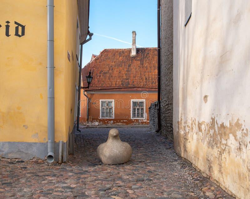 Εσθονία Ταλίν Toompea, παλαιό πόλης κτήριο στοκ φωτογραφίες με δικαίωμα ελεύθερης χρήσης