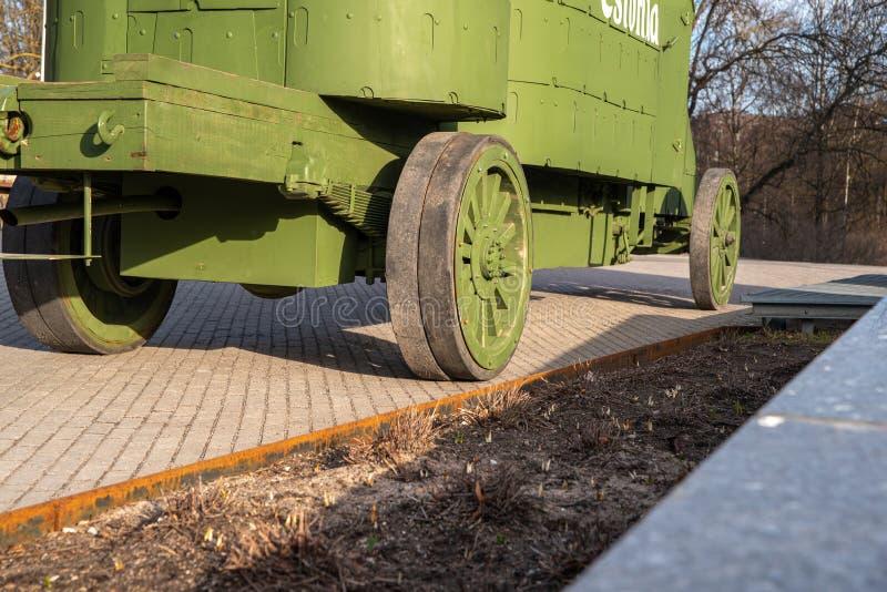 Εσθονία Ταλίν Toompea, πρώτο τεθωρακισμένο αυτοκίνητο στοκ εικόνες με δικαίωμα ελεύθερης χρήσης