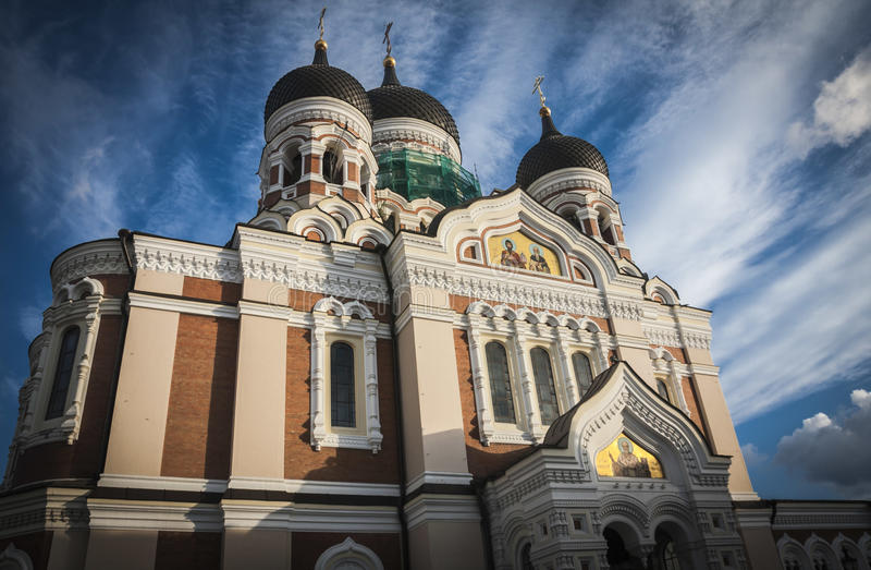 Εσθονία Ταλίν στοκ εικόνα