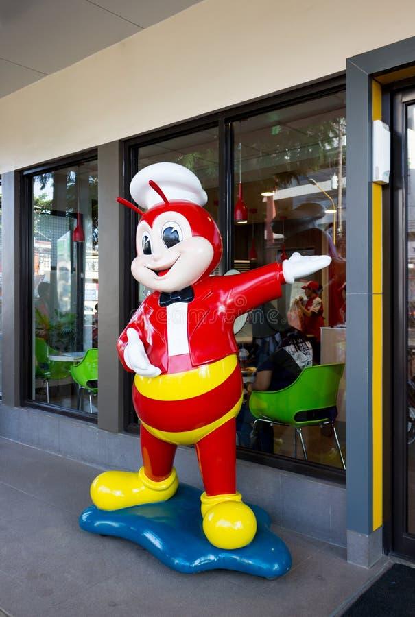 Εστιατόριο γρήγορου φαγητού Jollibee στις Φιλιππίνες στοκ φωτογραφία