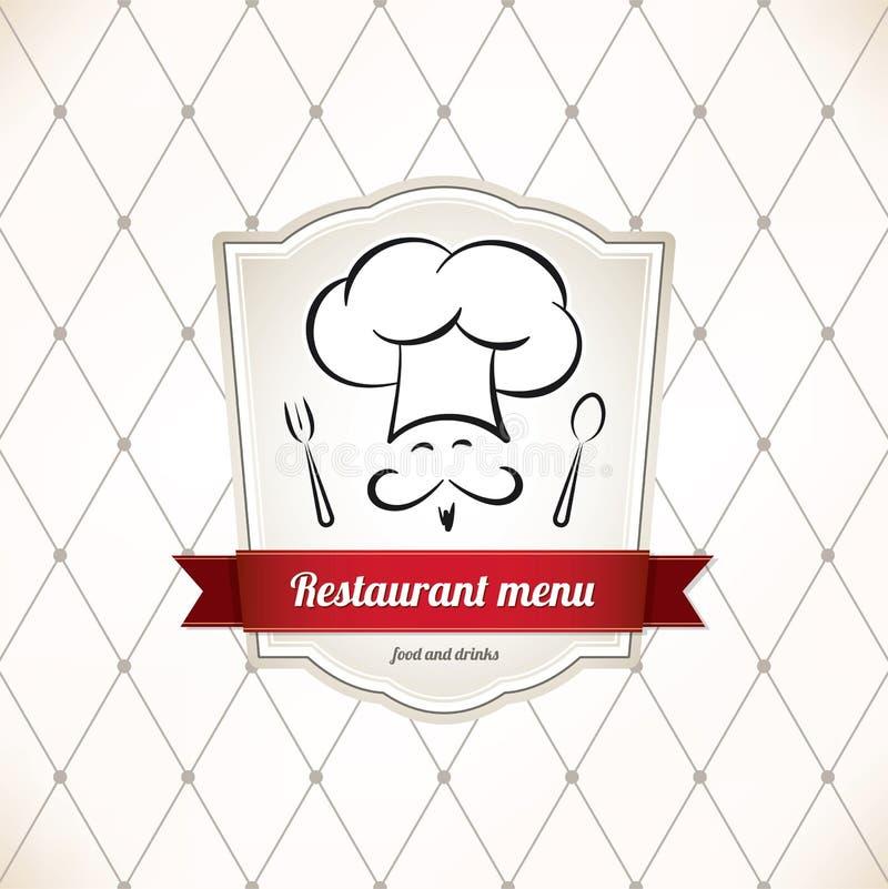 εστιατόριο καταλόγων επιλογής σχεδίου απεικόνιση αποθεμάτων