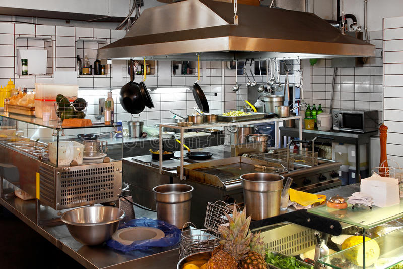 εστιατόριο κουζινών στοκ φωτογραφίες με δικαίωμα ελεύθερης χρήσης