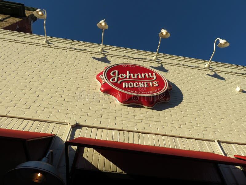 Εστιατόριο πυραύλων του Johnny στην Τζωρτζτάουν στοκ φωτογραφίες