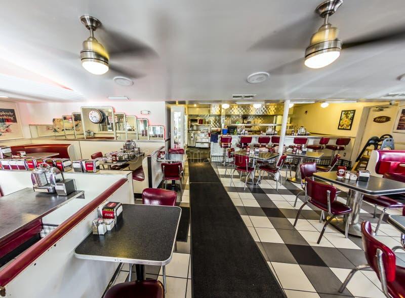 Εστιατόριο πυραύλων του Johnny στο ωκεάνιο Drive στο Μαϊάμι στοκ φωτογραφία με δικαίωμα ελεύθερης χρήσης