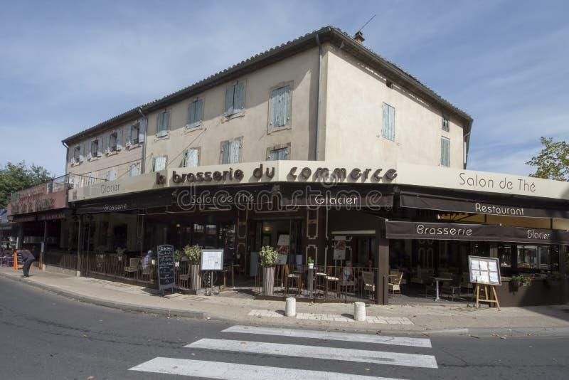 Εστιατόριο στην Άγιος-Rémy-de-Προβηγκία, Γαλλία στοκ φωτογραφία με δικαίωμα ελεύθερης χρήσης