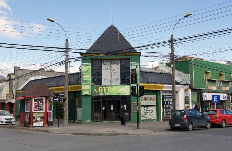 Εστιατόριο στους χώρους Punta, Χιλή στοκ εικόνα με δικαίωμα ελεύθερης χρήσης