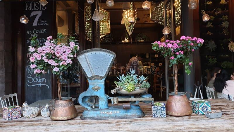 Εστιατόριο στο τέταρτο Gaslamp του Σαν Ντιέγκο στοκ φωτογραφία με δικαίωμα ελεύθερης χρήσης