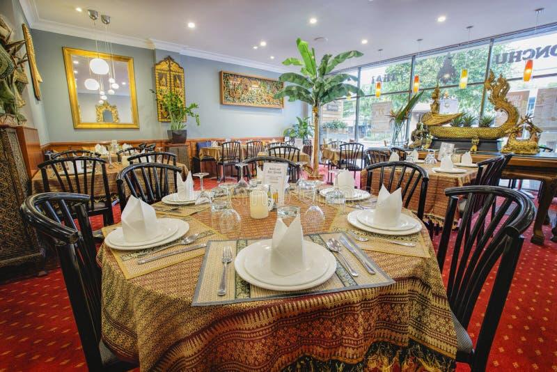 εστιατόριο Ταϊλανδός στοκ φωτογραφίες