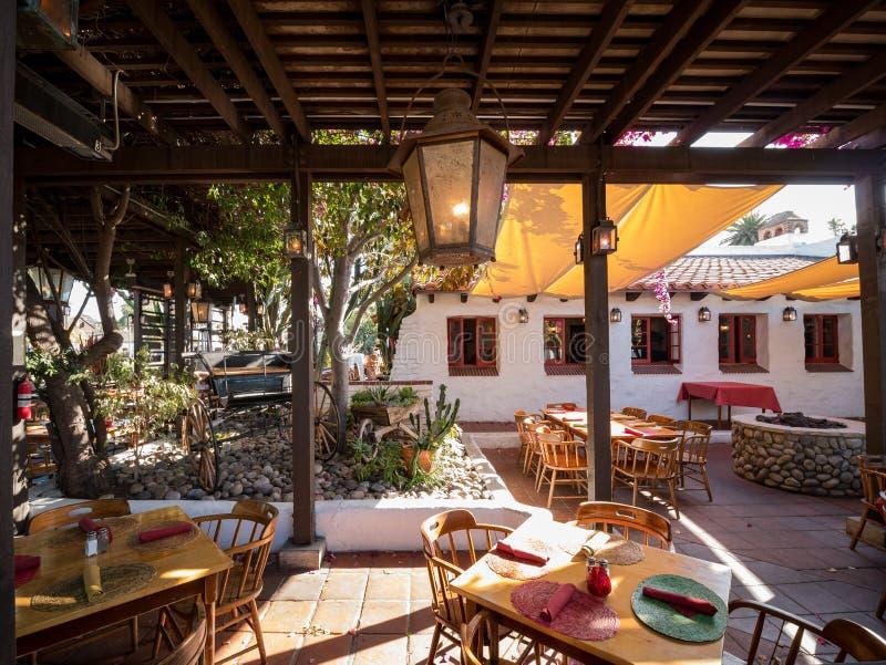 Εστιατόριο Barra Barra στην ιστορική παλαιά πόλη στοκ φωτογραφία με δικαίωμα ελεύθερης χρήσης