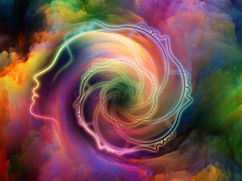Εσωτερικά χρώματα απεικόνιση αποθεμάτων