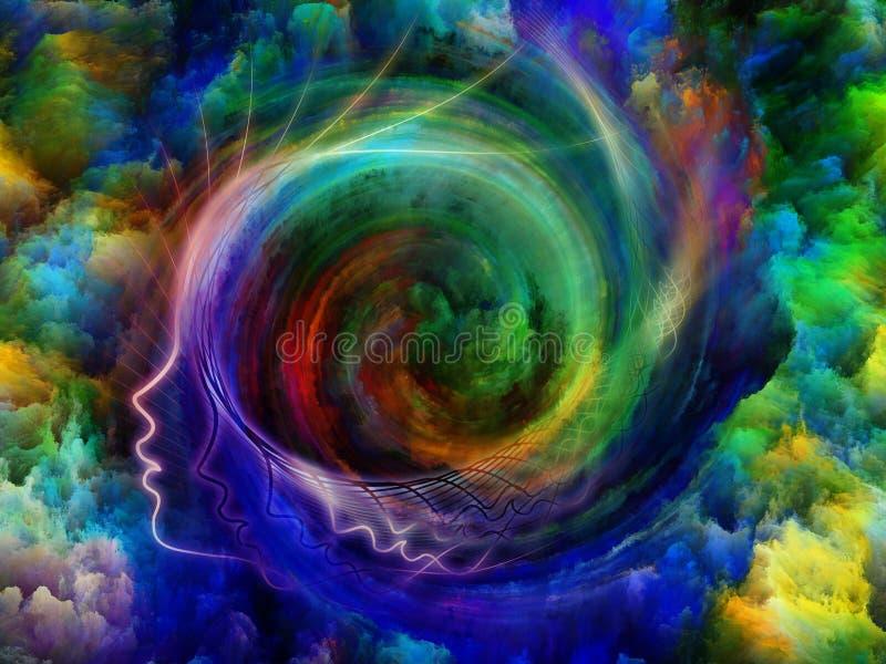 Εσωτερικά χρώματα διανυσματική απεικόνιση