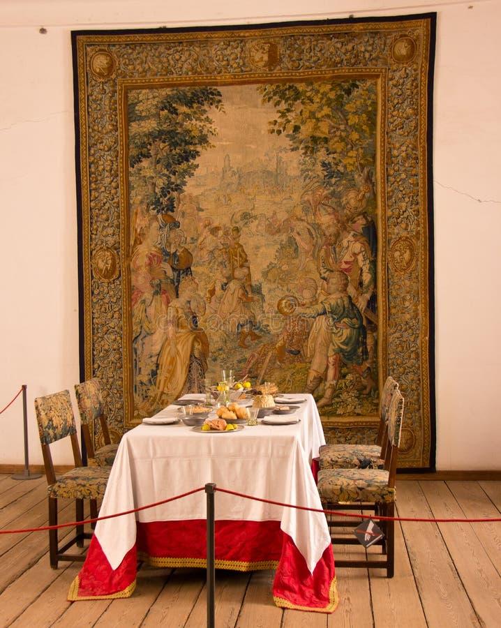 Εσωτερική άποψη Kronborg Castle στοκ εικόνες με δικαίωμα ελεύθερης χρήσης
