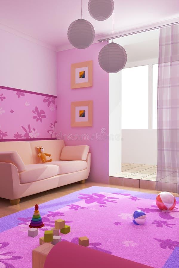 εσωτερική αίθουσα s παι&delta ελεύθερη απεικόνιση δικαιώματος