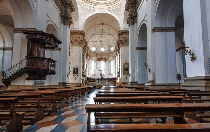 Εσωτερική διακόσμηση στον καθεδρικό ναό της Πάδοβας Ιταλία Δημόσιος χώρος στοκ φωτογραφία με δικαίωμα ελεύθερης χρήσης