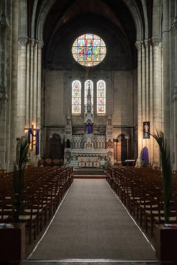 Εσωτερική εκκλησία Αγίου Ferdinand στοκ εικόνα με δικαίωμα ελεύθερης χρήσης