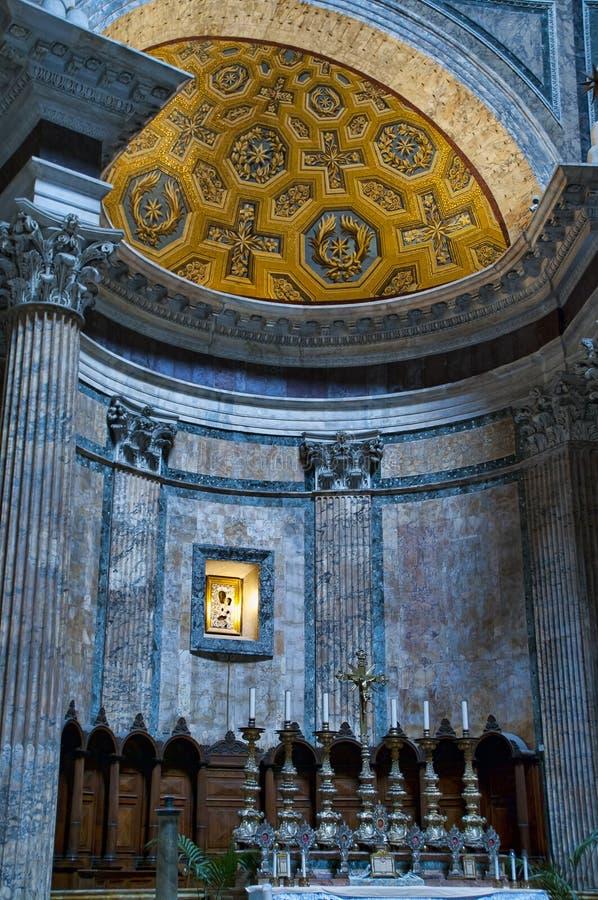 Εσωτερική λεπτομέρεια του Pantheon στη Ρώμη, Ιταλία στοκ εικόνα με δικαίωμα ελεύθερης χρήσης