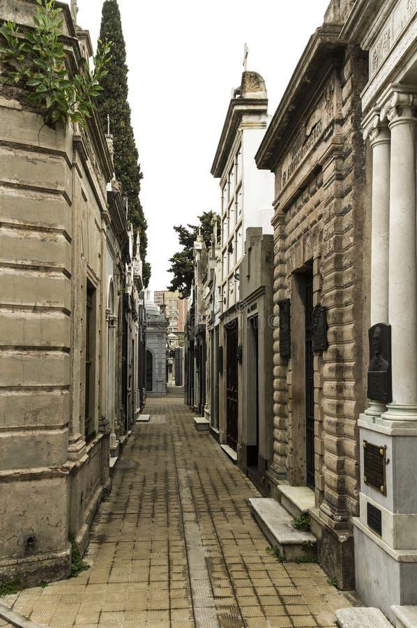 Εσωτερική οδός Recoleta στοκ εικόνες