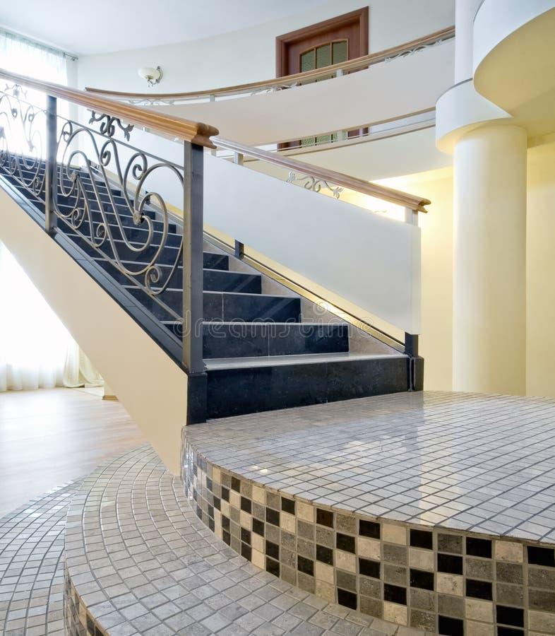 εσωτερική σκάλα στοκ φωτογραφία