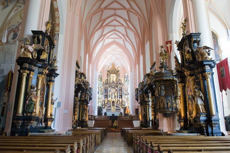 Εσωτερική συλλογική εκκλησία στοκ εικόνες με δικαίωμα ελεύθερης χρήσης