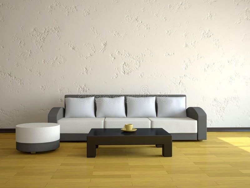 εσωτερικός καναπές ελεύθερη απεικόνιση δικαιώματος