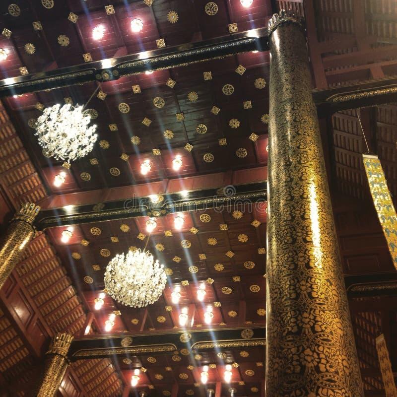 Εσωτερικός ναός στοκ εικόνες