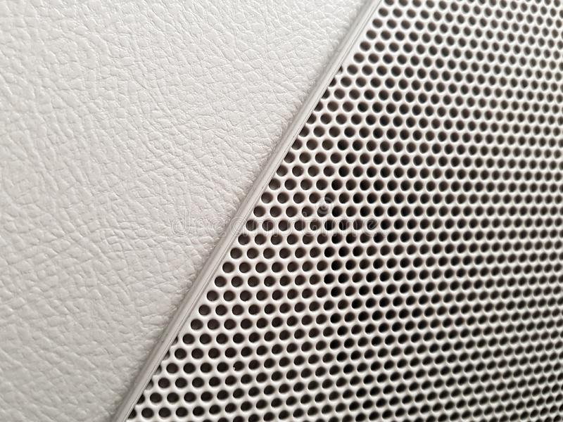 Εσωτερικός προσδιορισμός οχημάτων - ακουστικός ομιλητής συστημάτων αυτοκινήτων στοκ εικόνα