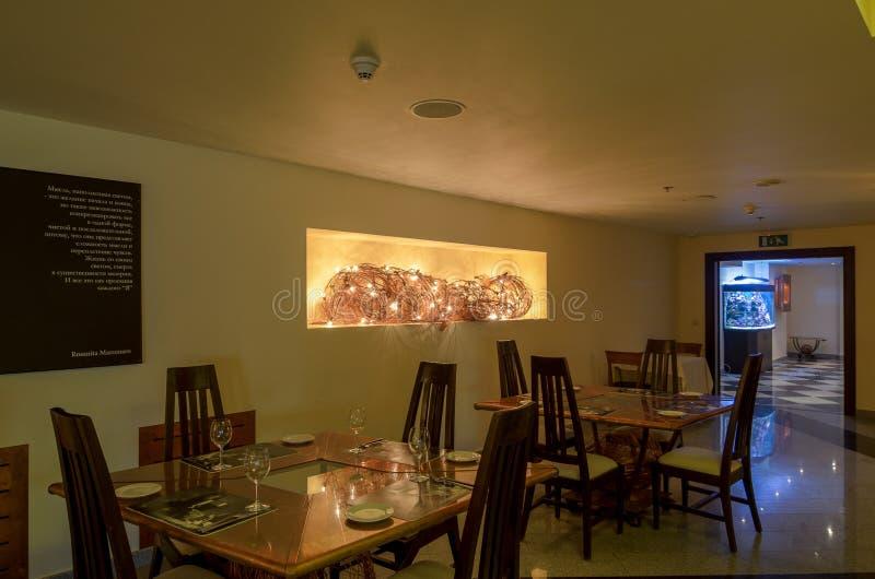 Εσωτερικός πυροβολισμός εστιατορίων στοκ φωτογραφίες με δικαίωμα ελεύθερης χρήσης