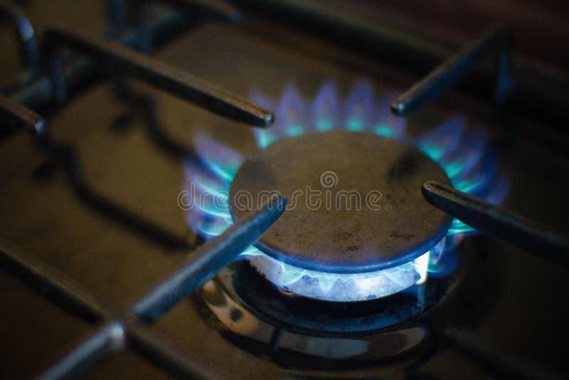 Εσωτερικό αέριο, μεθάνιο στοκ φωτογραφία