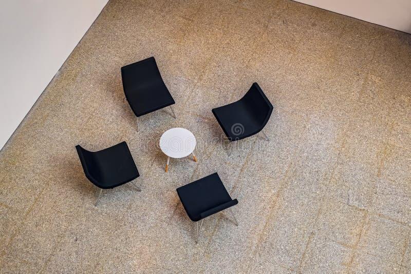 Εσωτερικό αίθουσας αναμονής στοκ φωτογραφία με δικαίωμα ελεύθερης χρήσης