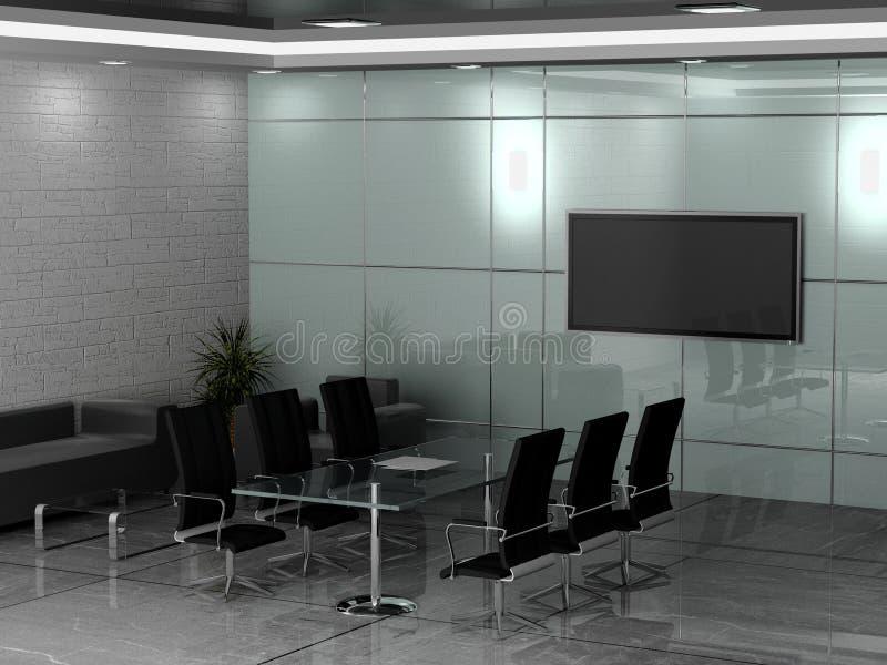 εσωτερικό γραφείο ελεύθερη απεικόνιση δικαιώματος