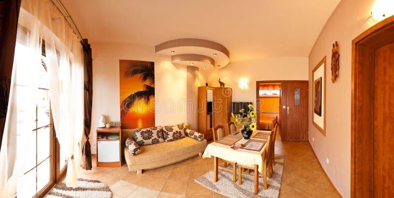 εσωτερικό δωμάτιο ξενοδ στοκ φωτογραφία